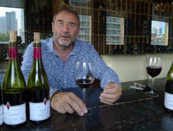 Burgundian Winemaker Jean Michel Jacob talks berries and Beaune at Toronto's Spoke Club.