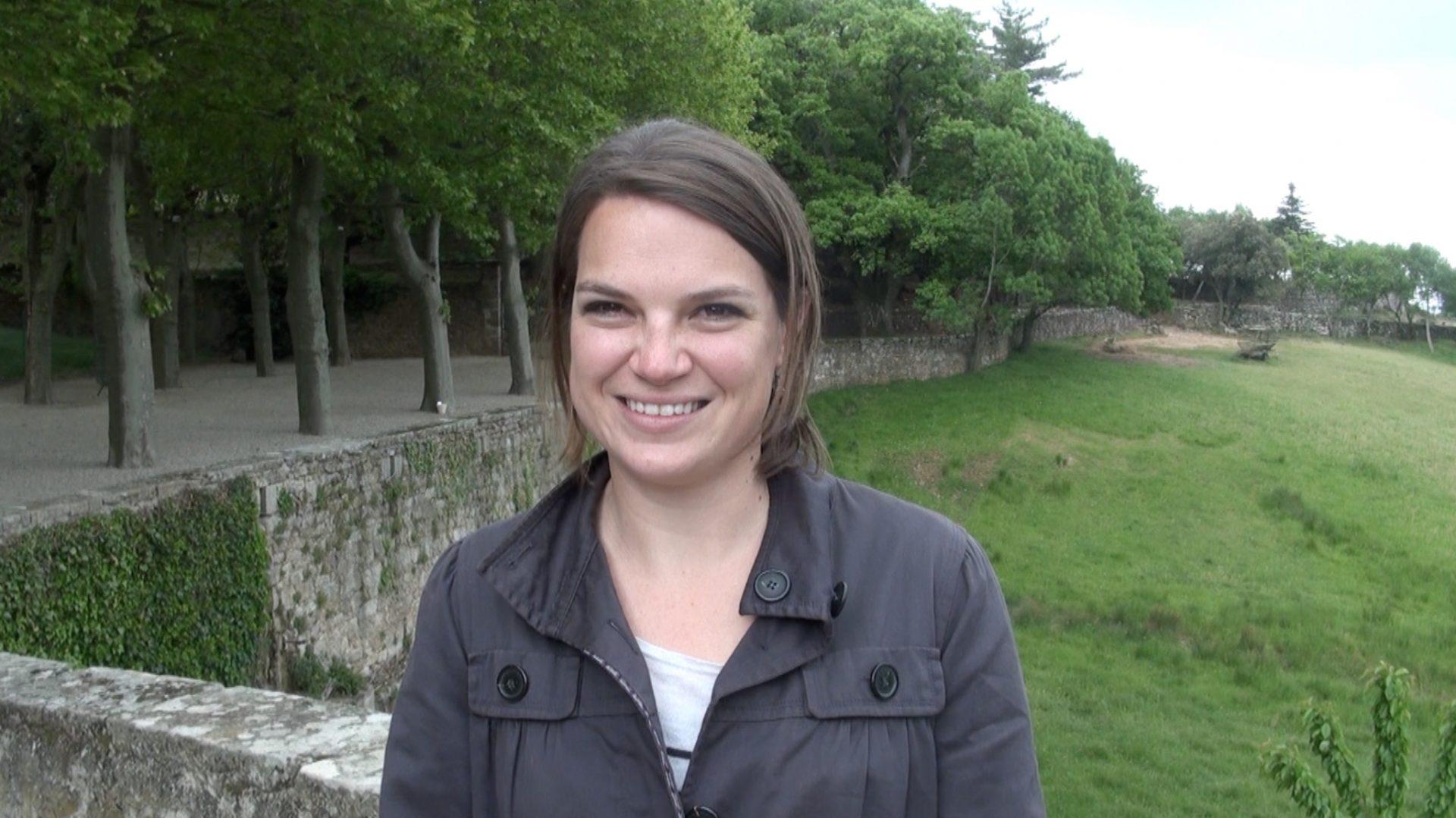 Terrasses du Larzac Winemaker Charlotte de Béarn.