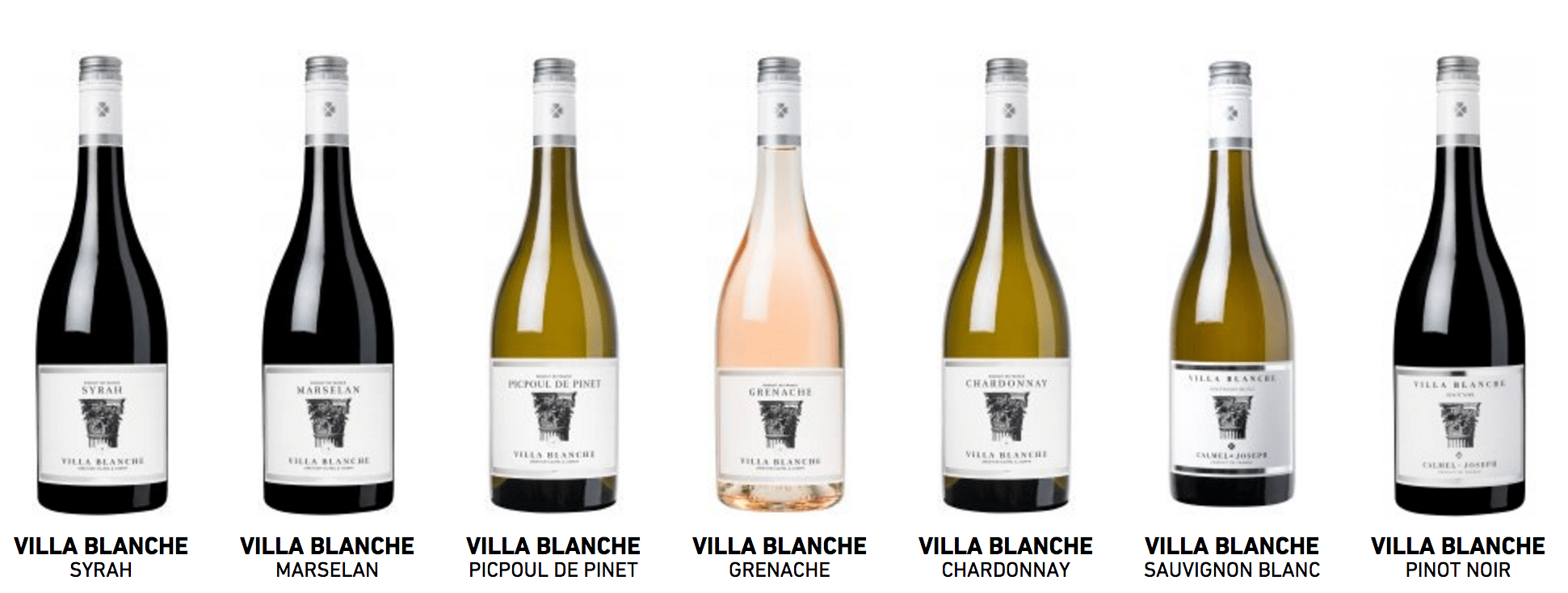 A selection of the Ville Blanche range will be available at Convenanza.