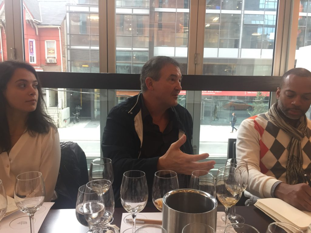 Jesus Barquin treats some Toronto sommeliers to a selection of his fantastic wines.
