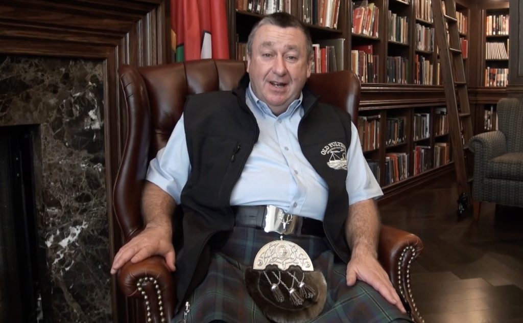 After eight or so drams I sat down for a blether with Malcolm Waring of Old Pulteney.