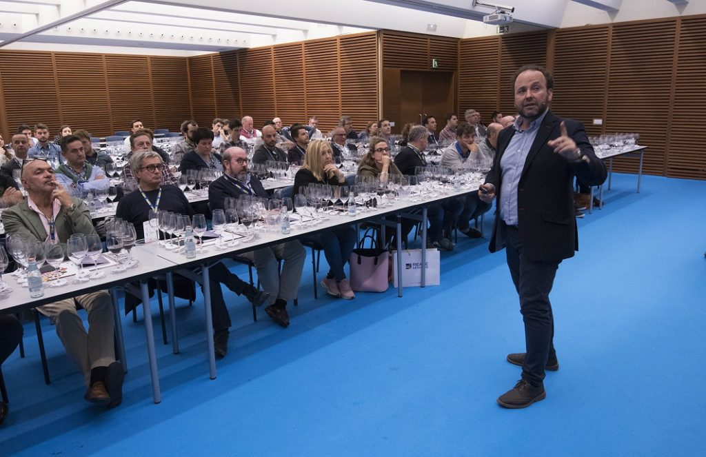 . The Chivite Coleccíon Tasting with Oenology Director César Muñoz