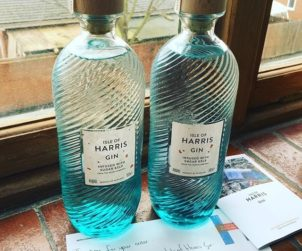 There's a new gin in town, and it's pretty damn special ; introducing the Isle Of Harris Gin.