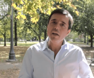 Self-described Wine World Disruptor, Joao Pedro Montes of Portugal's Wine With Spirit hosts a private Wine Marketing masterclass in a hot Trinity Bellwoods Park this summer.