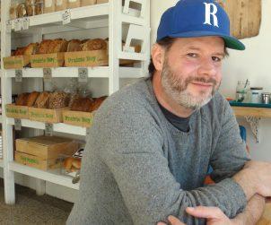 Baker Grant Macpherson at his College Street bakery, Prairie Boy Breads.