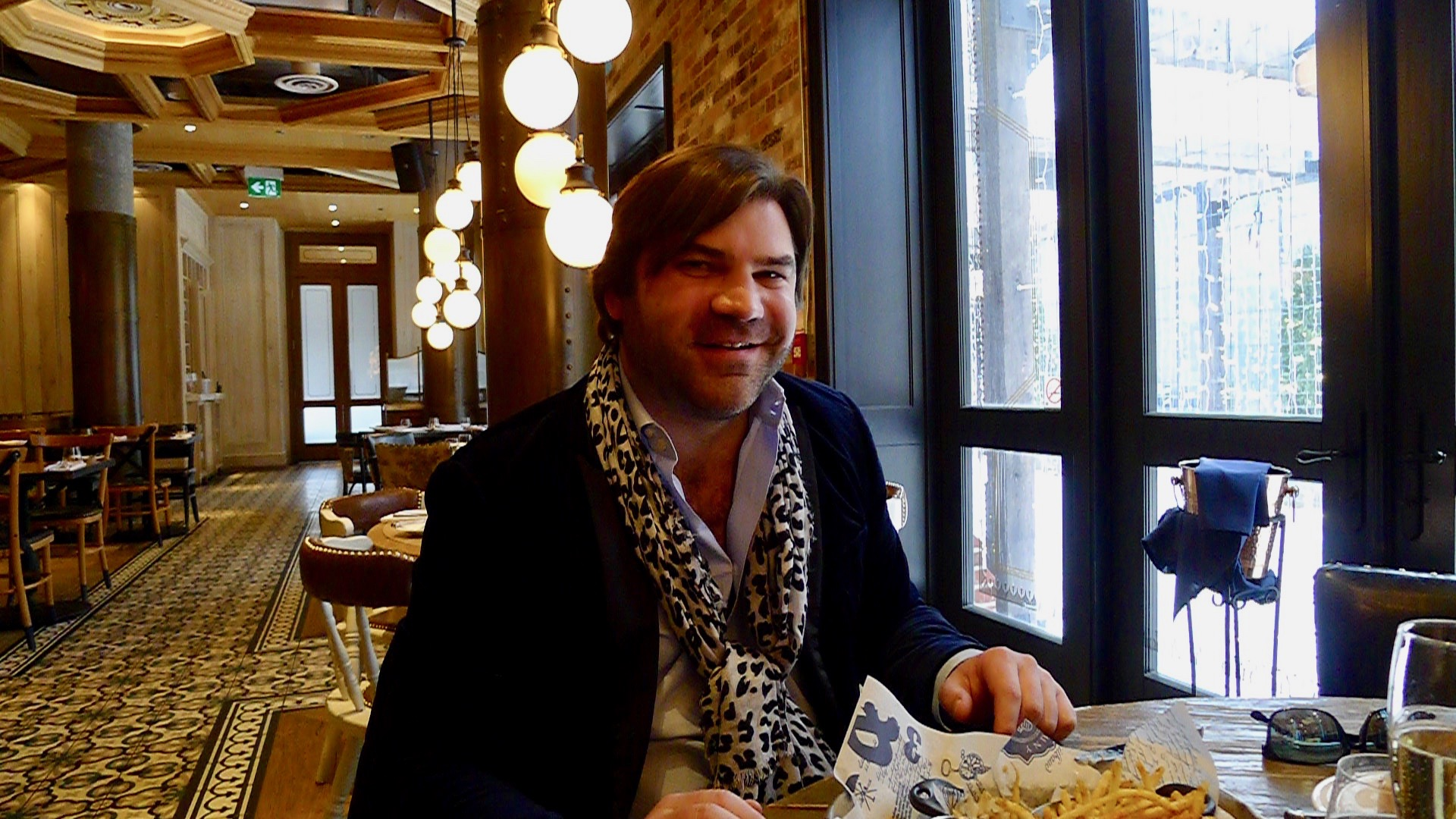 Lunch at Toronto's Cluny Bistro with the charmingly effusive Jean-Remy Rapeneau.