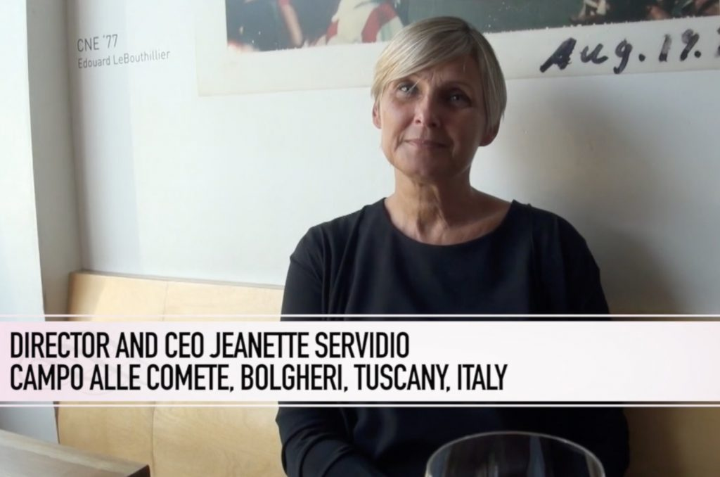 At Toronto's Archive Wine Bar Jeanette Servidio Of Campo Alle Comete.