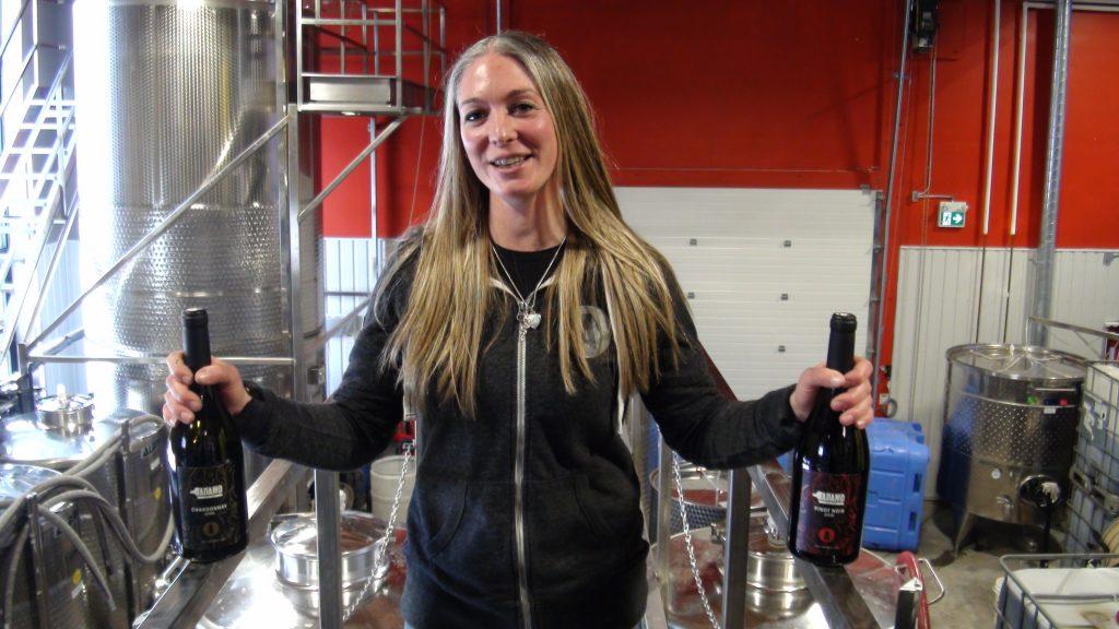 Adamo Estate WInery Winemaker Shauna White.