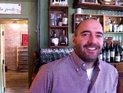 The Farmhouse Tavern's Darcy MacDonell loves a bit of Ontario VQA wine.