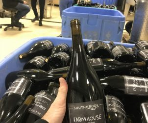 """We just did a FARMHOUSE tavern exclusive bottling of Biodynamic Syrah magnums with Southbrook - It's fun & funky, super quaffable. """