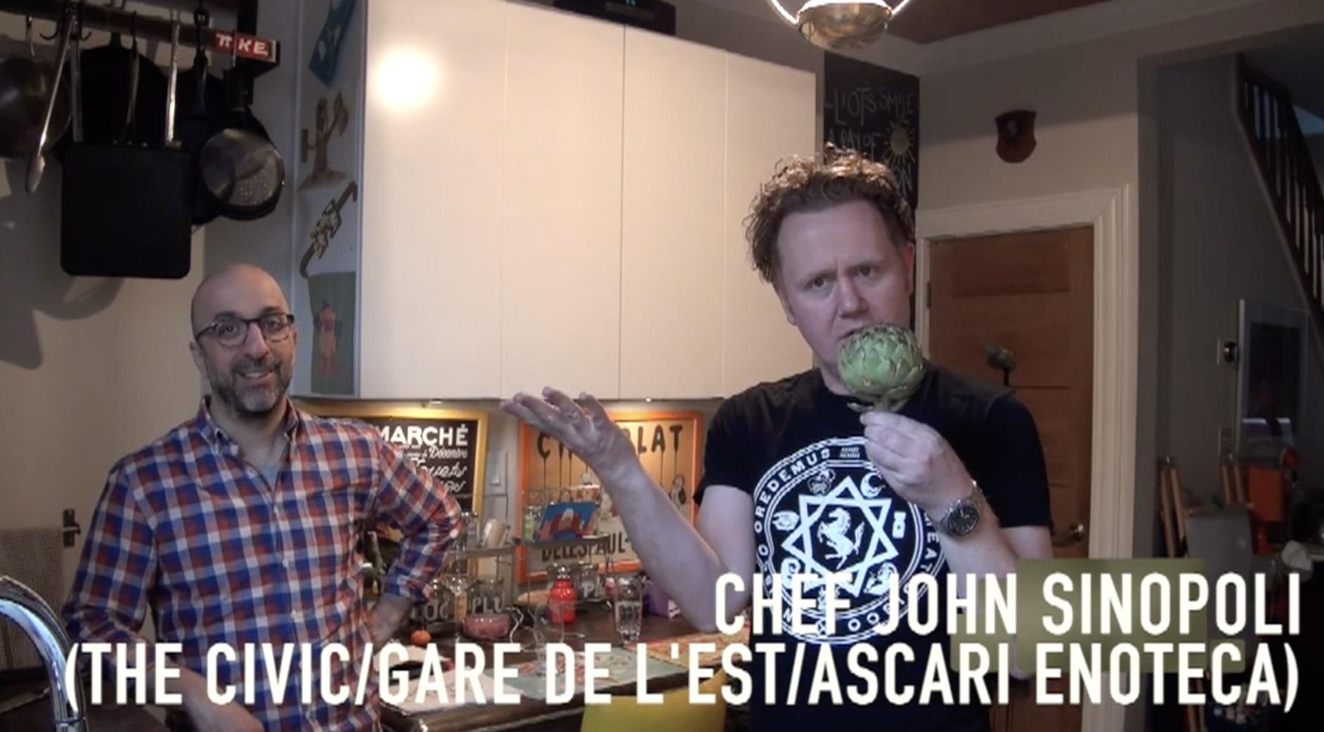 Toronto's John Sinopoli explains how to prepare the rather tricky artichoke using Wüsthof's Classic Icon range.