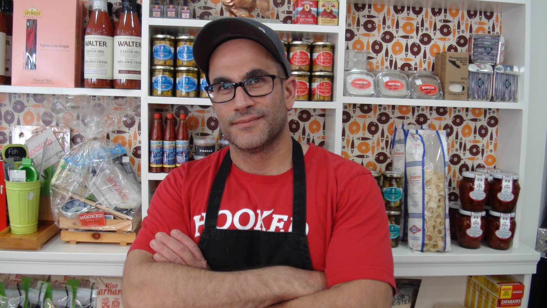 Chef Daniel Muia shows us some of his favourite sustainable fish at Hooked on the Danforth.