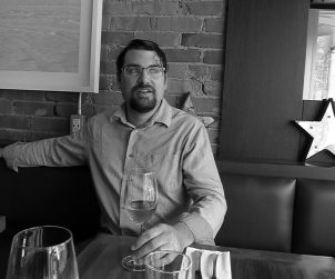 Sommelier Damien Detcheverry at Fiorentina on The Danforth.
