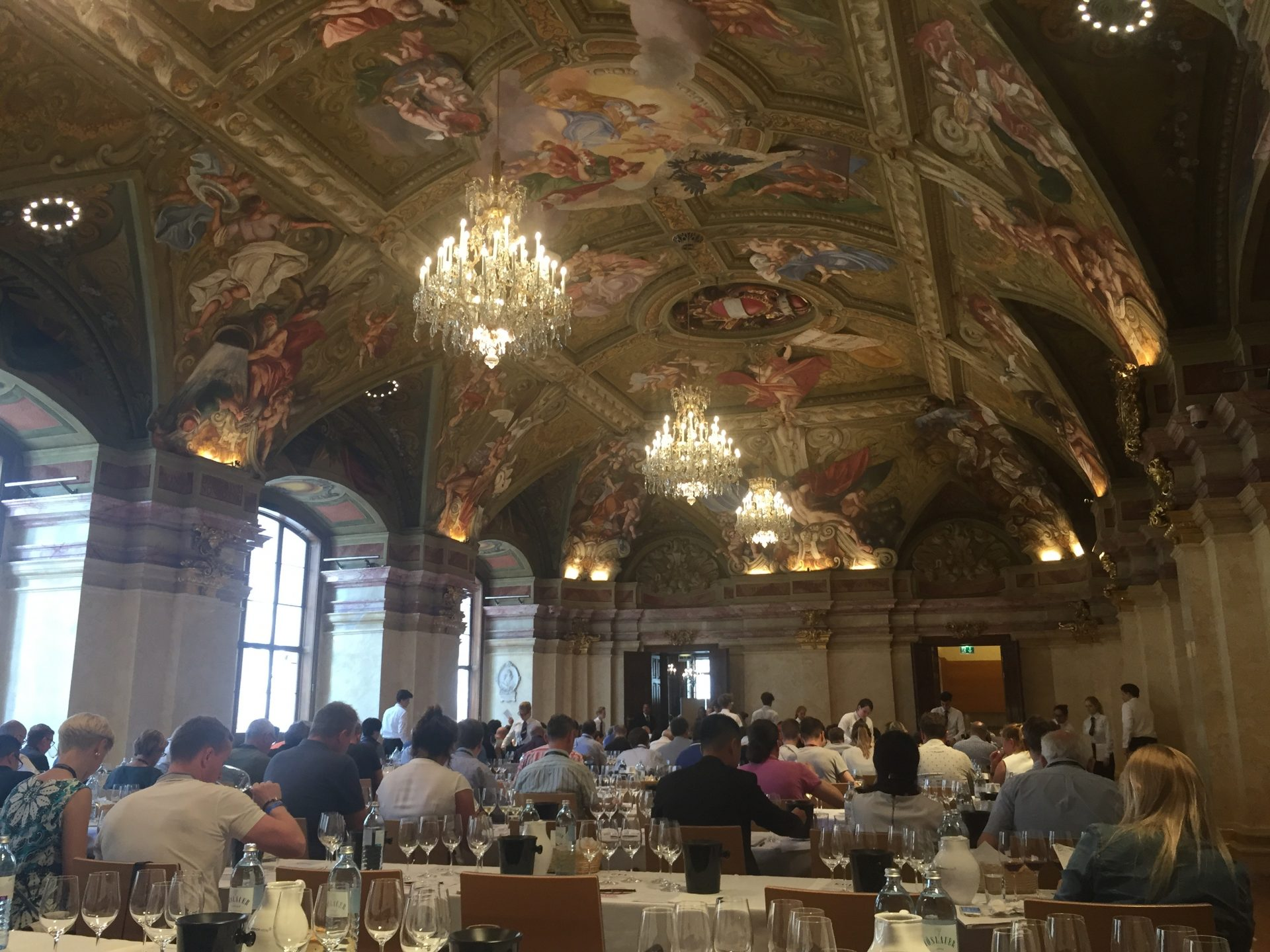 VieVinum 2018 – Set Tasting, Organised in Flights 'Great Sauvignon Blancs And Pinots', Palais Niederösterreich, Vienna.