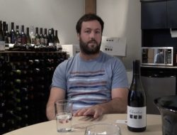 Churton's Jack Weaver at Le Sommelier's Toronto offices.
