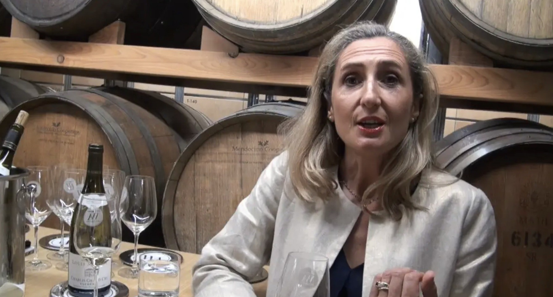 Anne Moreau talks Chablis at Toronto's Wine Academy.