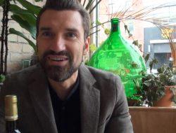Podere San Cristoforo's Lorenzo Zonin popped in for a tasting at Toronto's Paris Paris.