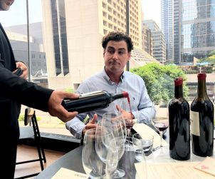 Harold Langlais of Bordeaux's Château Le Puy pours a variety of vintages (1970 - 2014) of his house's excellent wines at Toronto's Momofuku.