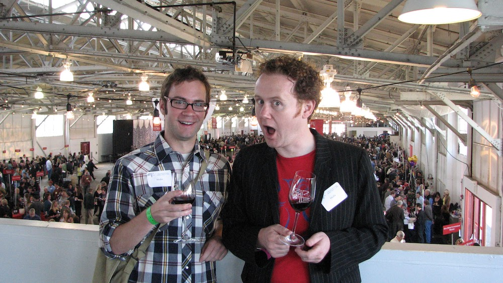 GFR's Jamie Drummond and friend Ian at San Fransisco's ZAPP conference in 2009.
