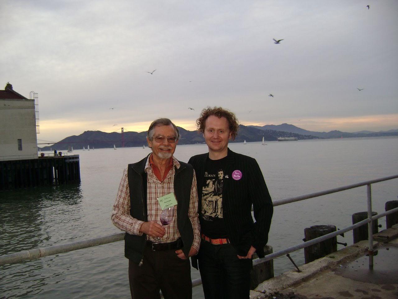 GFR's Jamie Drummond with the legendary Paul Draper of Ridge Vineyards.