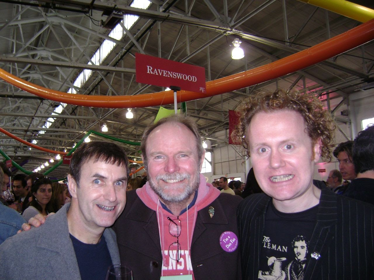 Purple Teethed Monsters : With Hooked's Dan Donovan and Ravenswood Winemaker Joel Peterson at ZAP, San Fransisco 2008.