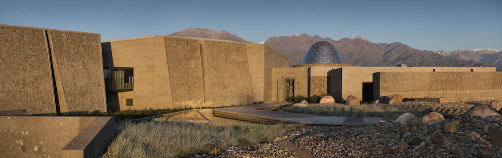 The fortress-like Bodega Zuccardi winery located in Mendoza's Valle de Uco, Sebastián's base of operations.