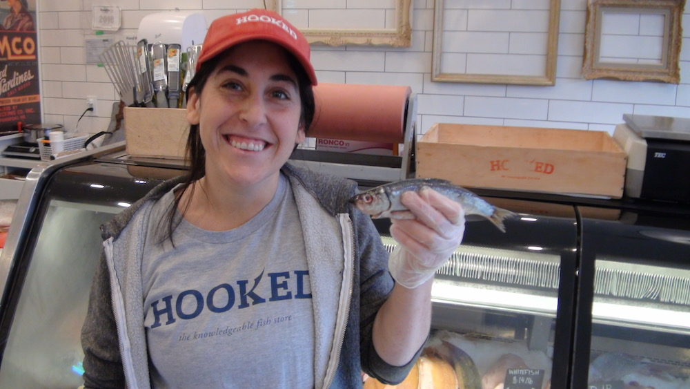 Adrienne Mannone at Hooked Kensington explains the pleasures of the Pacific Herring.