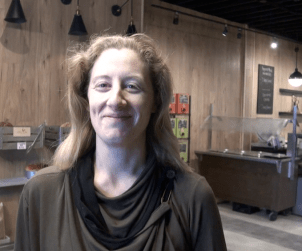 Michelle Genttner, co-founder of Toronto's new zero-waste Unboxed Market at Dundas and Dovercourt..
