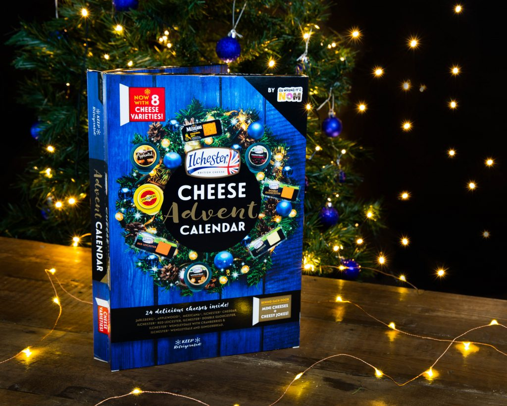 As cheesy as it may sound, this cheese advent calendar is the perfect antidote to post-Halloween sugar overdose fatigue.