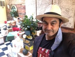 Always a gentleman with an informed opinion, Mr. Shamez Amlani at his Queen Street West restaurant and bottle shop, La Palette.