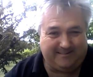 Live and direct from his Martinborough vineyard, New Zealand, it's vigneron Kai Schubert.