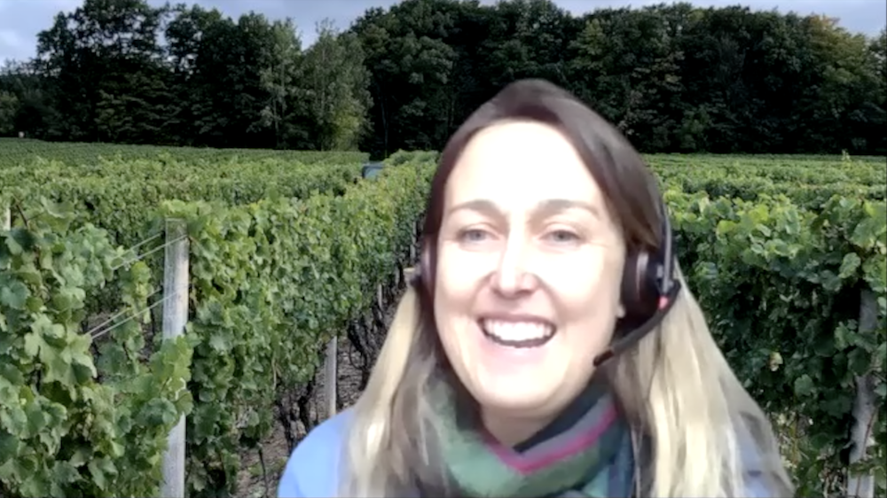 Thirty Bench Winemaker Emma Garner joins us live and direct from her very healthy looking virtual vineyard.