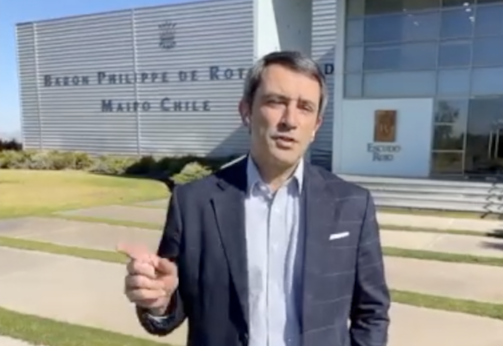 Escudo Roja Winemaker Emmanuel Riffaud joins us for Part One of a two part interview.