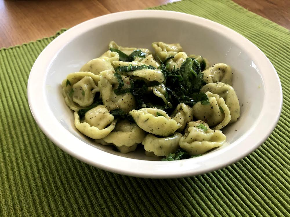 With ramps, the simpler the better. Here seen mixed into hot buttered pasta. Amazing.